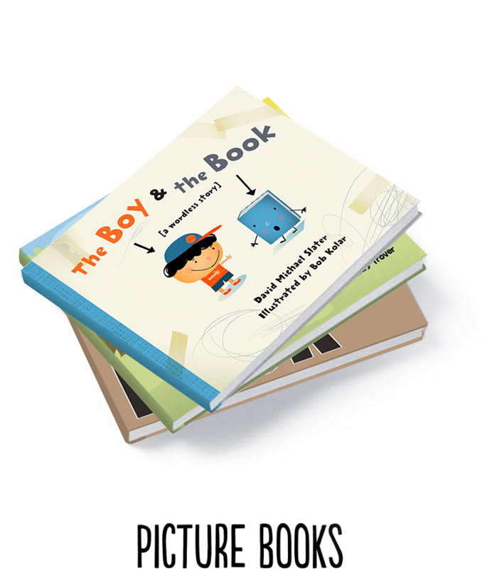 David Michael Slater Picture Books